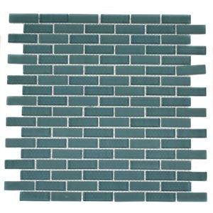 Turquoise .5x2 Brick