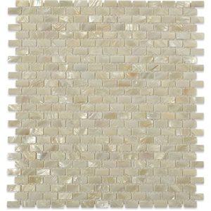 White Pearl Mini Brick