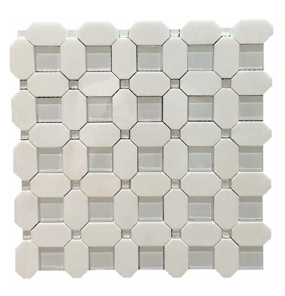 Square Weave Glass Dot