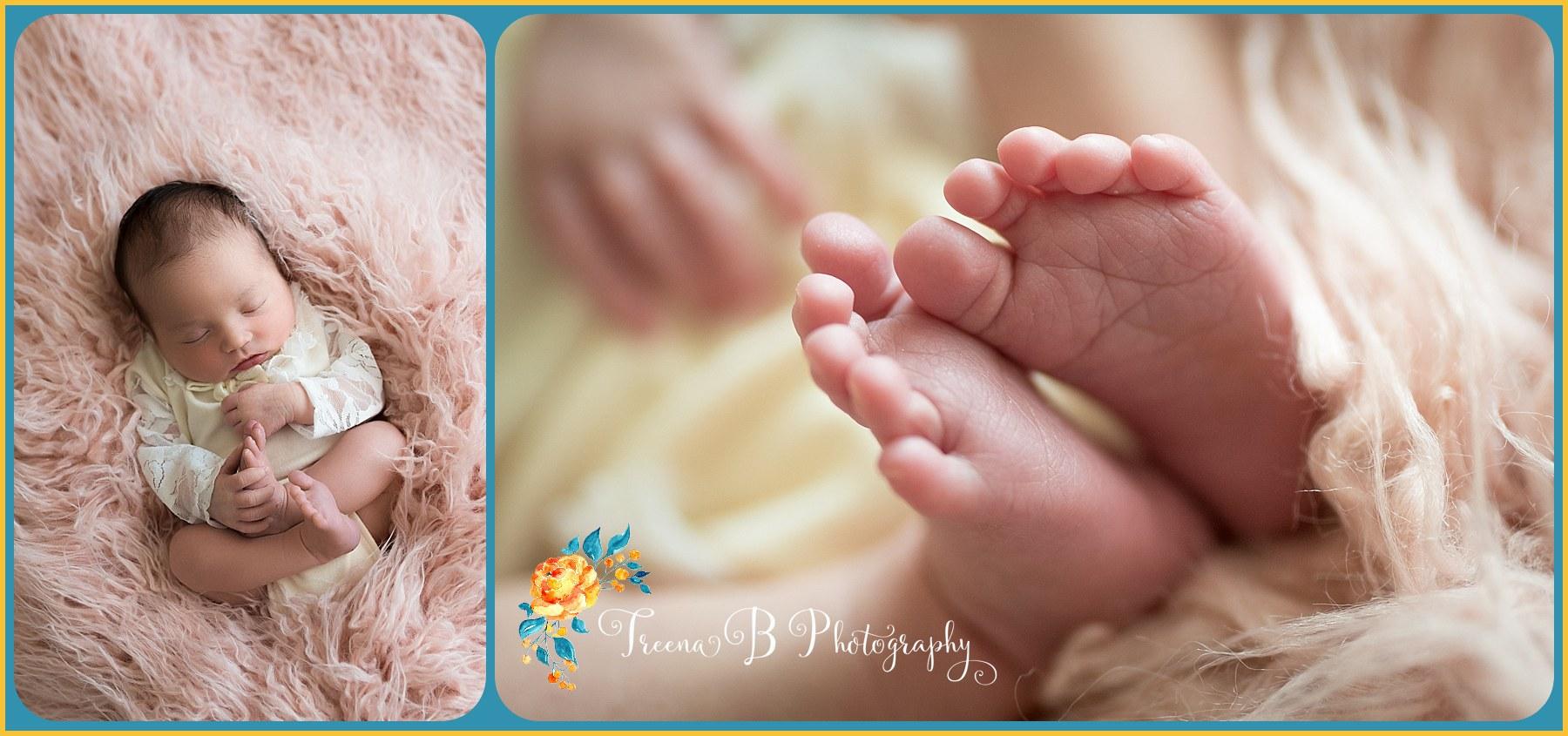 Treena B Photography Newborn Portrait Session September 2017