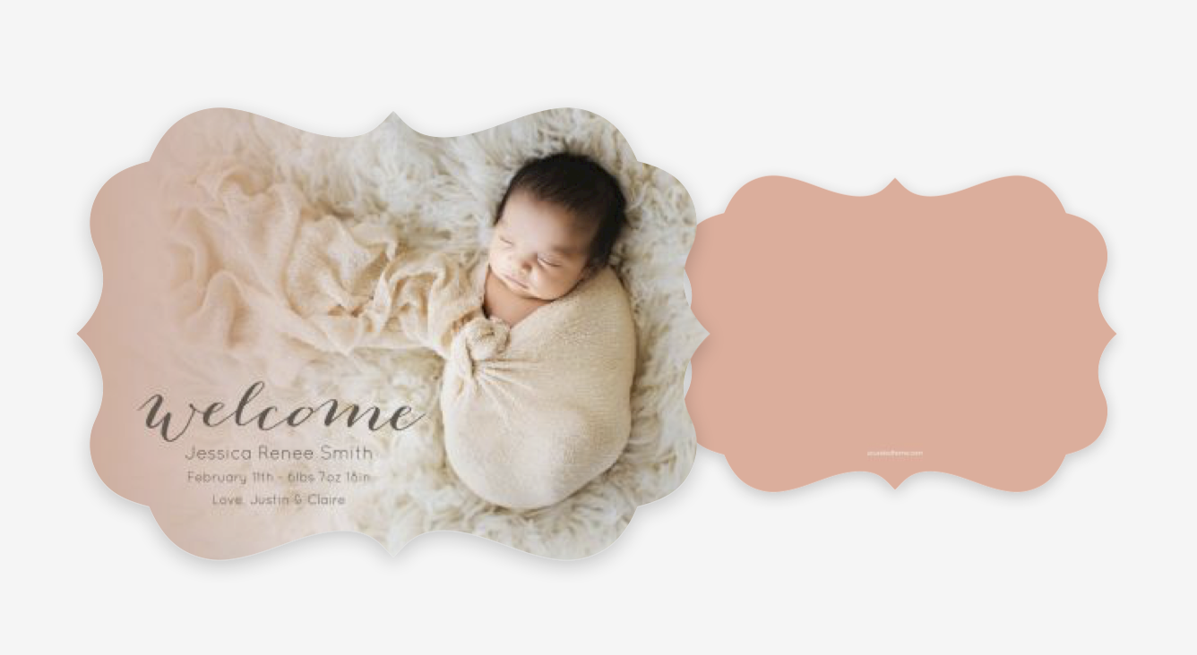 Birth Announcements - I can customize and order high quality and UNIQUE birth announcements using your portrait images from Treena B Photography!!Prices range from $1.00-$5.00 per card.You can review all cards available online, by clicking HERE.