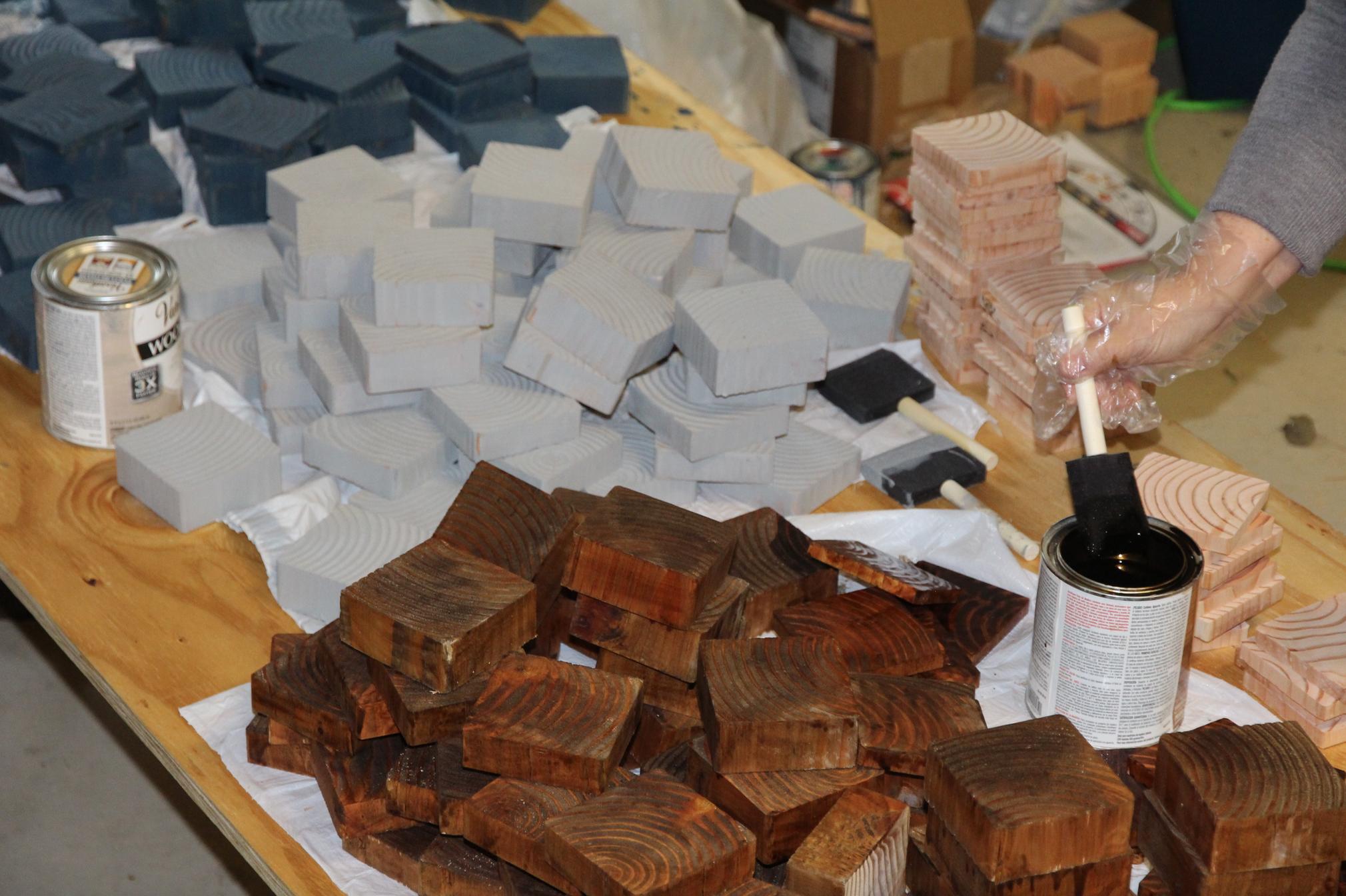 Staining Blocks