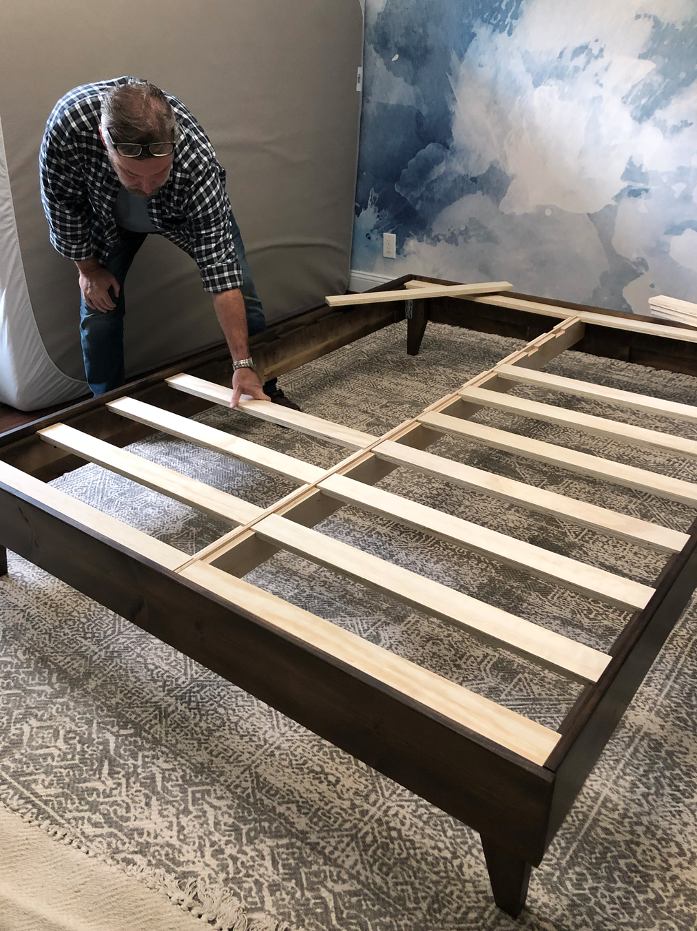 Bedframe assembly