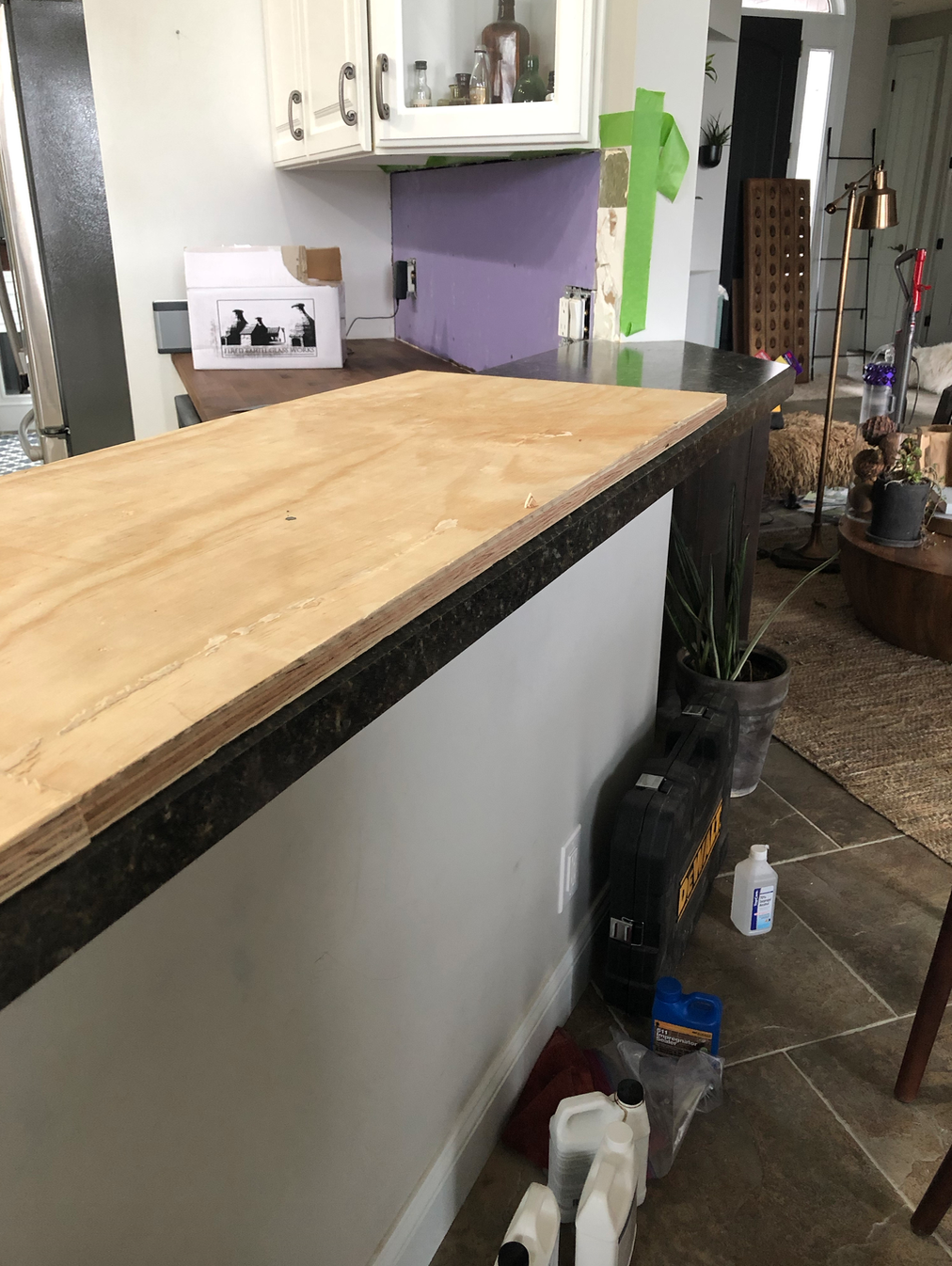 adding height to formica