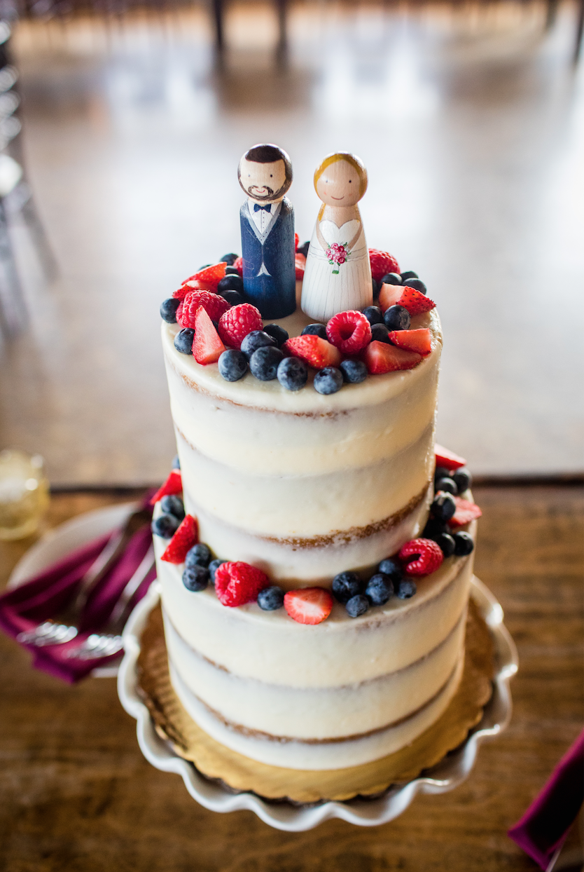 My daughter found these adorable cake toppers on Etsy.