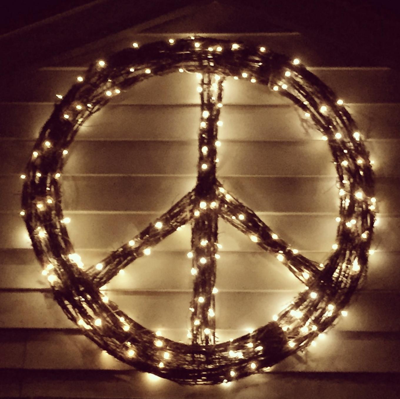 CB2 Peace Wreath