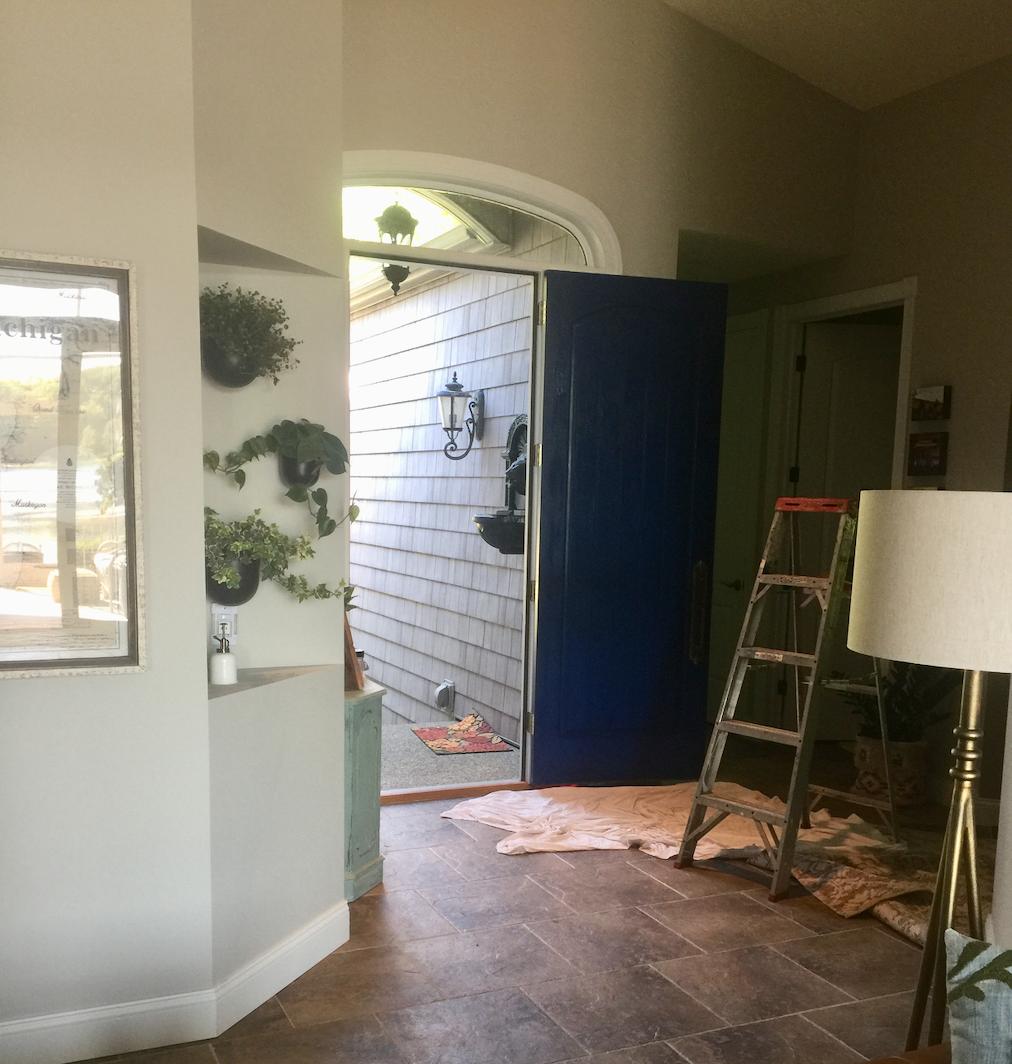 Painting my front door