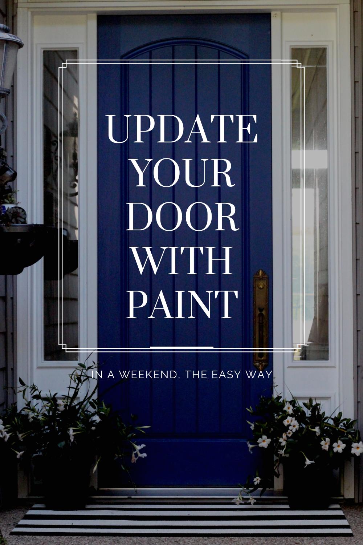 Pin It Update your door with Paint