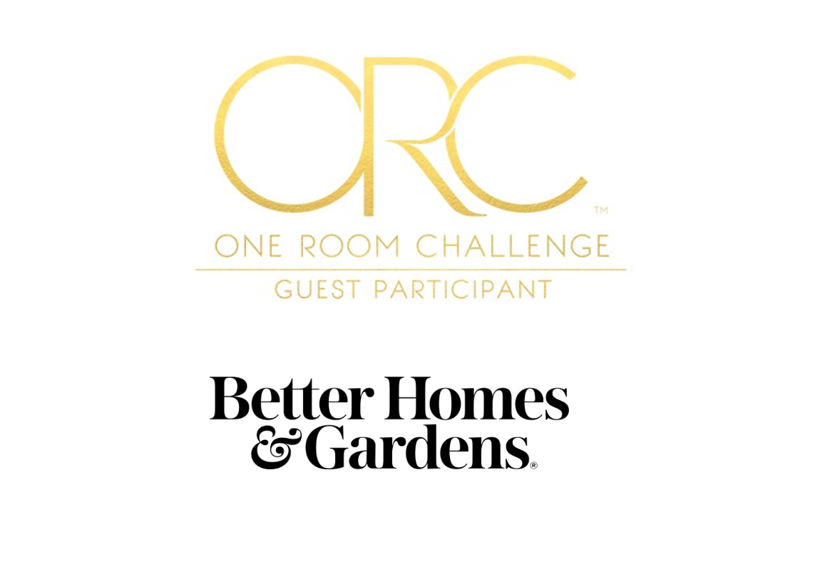 A Big thanks to the One Room Challenge and Better Homes & Gardens