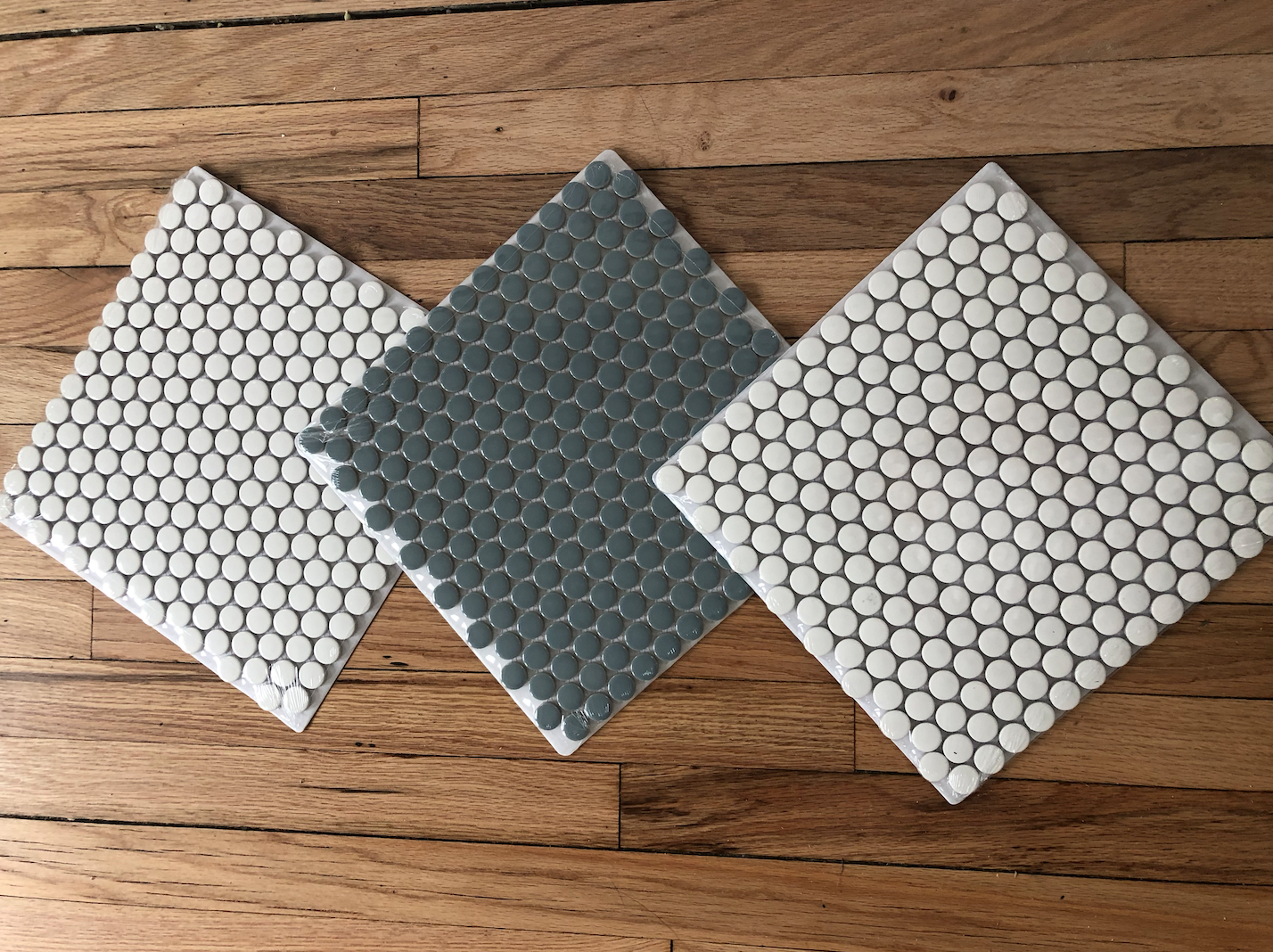 Penny Tile from Home Depot
