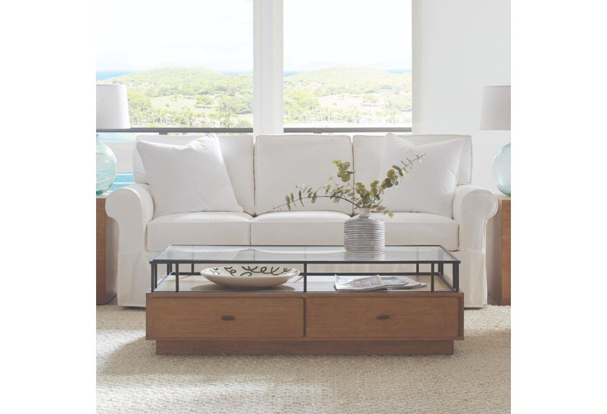The sofa I ended up purchasing. Nantucket by Rowe (Photo by Rowe Furniture)