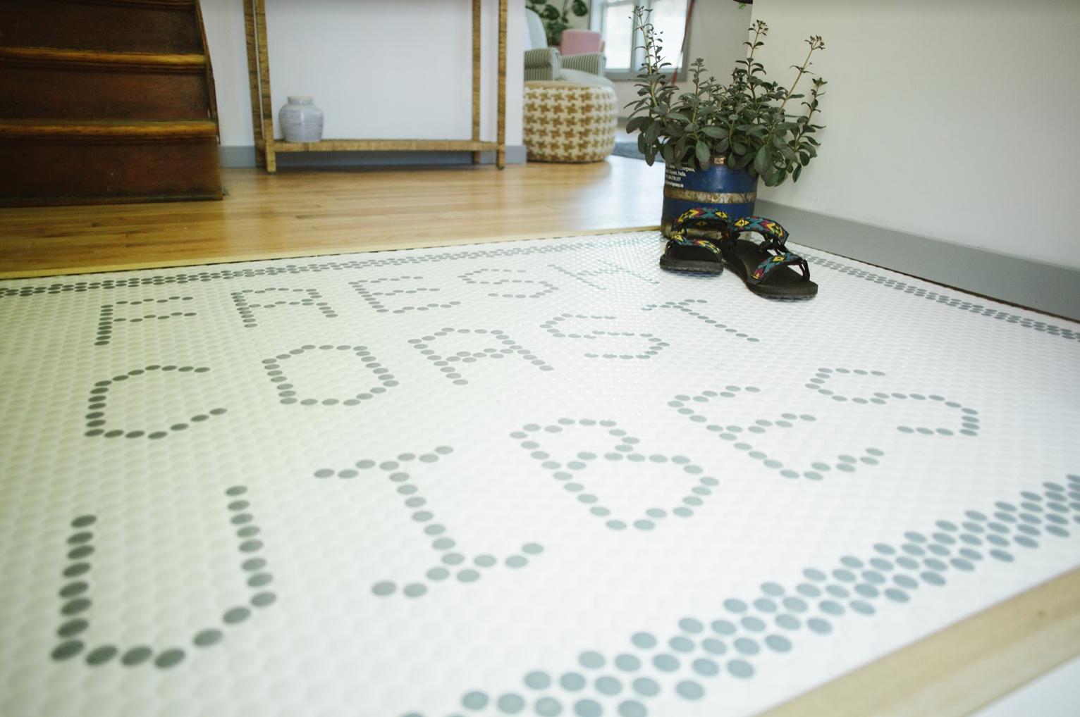 Penny Tile typography-Fresh Coast Vibes
