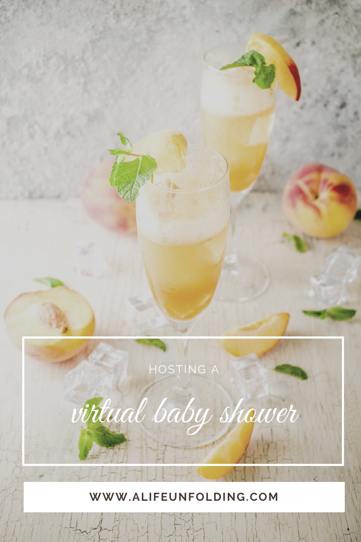 Peach-Apple Cider Mocktail