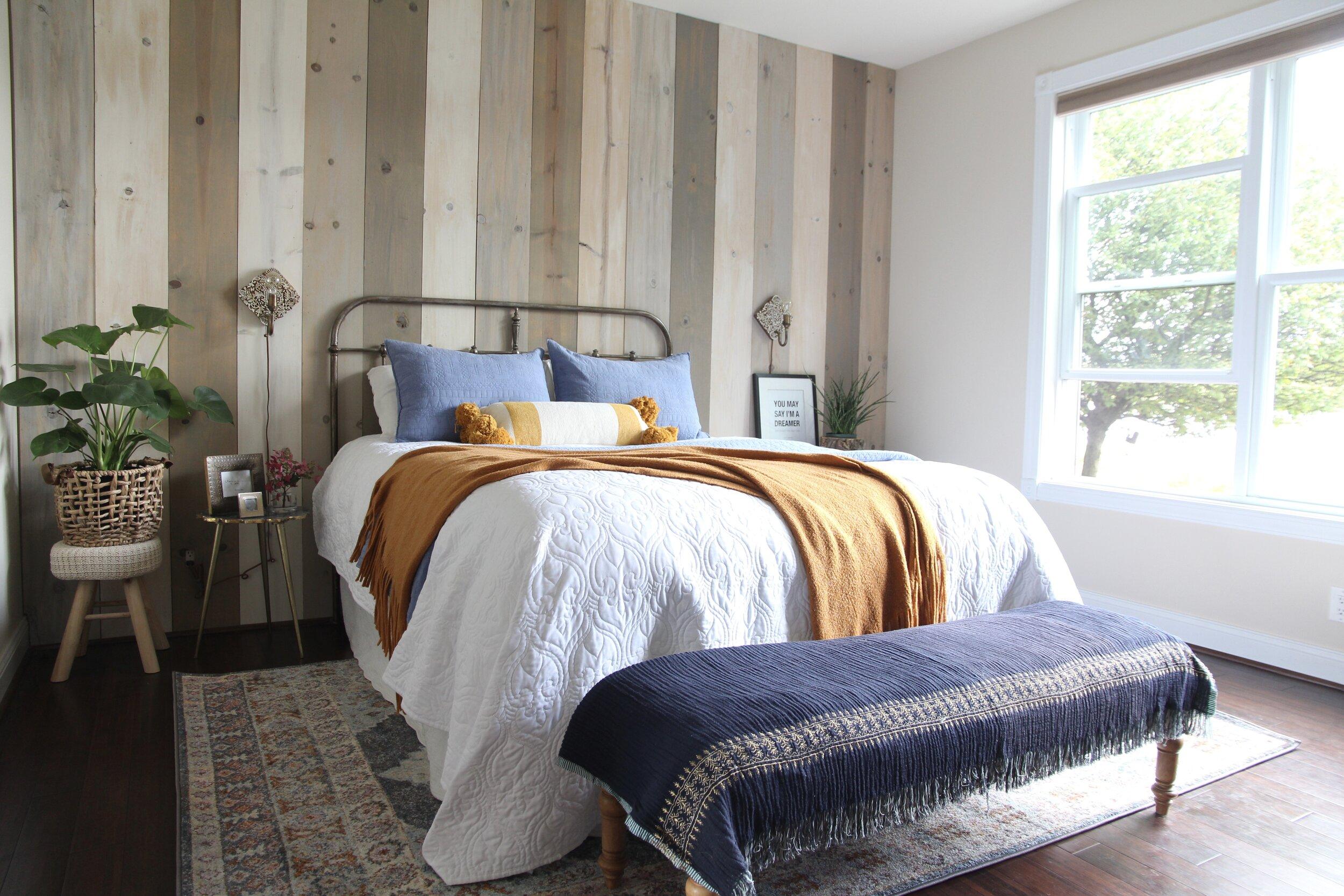 Fall Master Bedroom