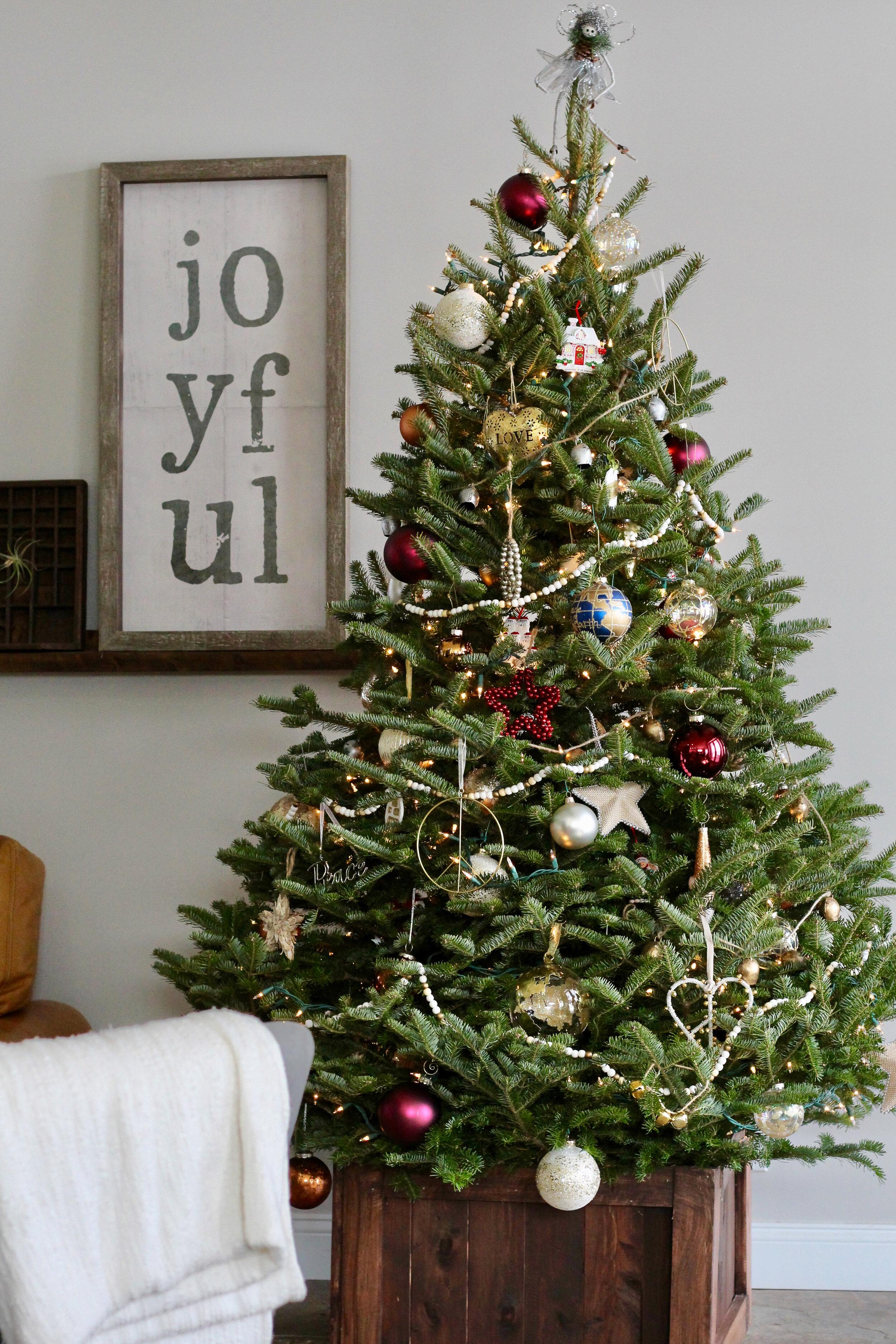 Christmas Tree in a handmade box