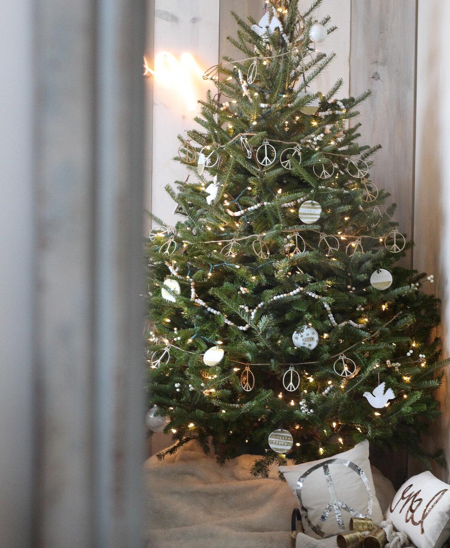 Fresh Peace themed Christmas Tree