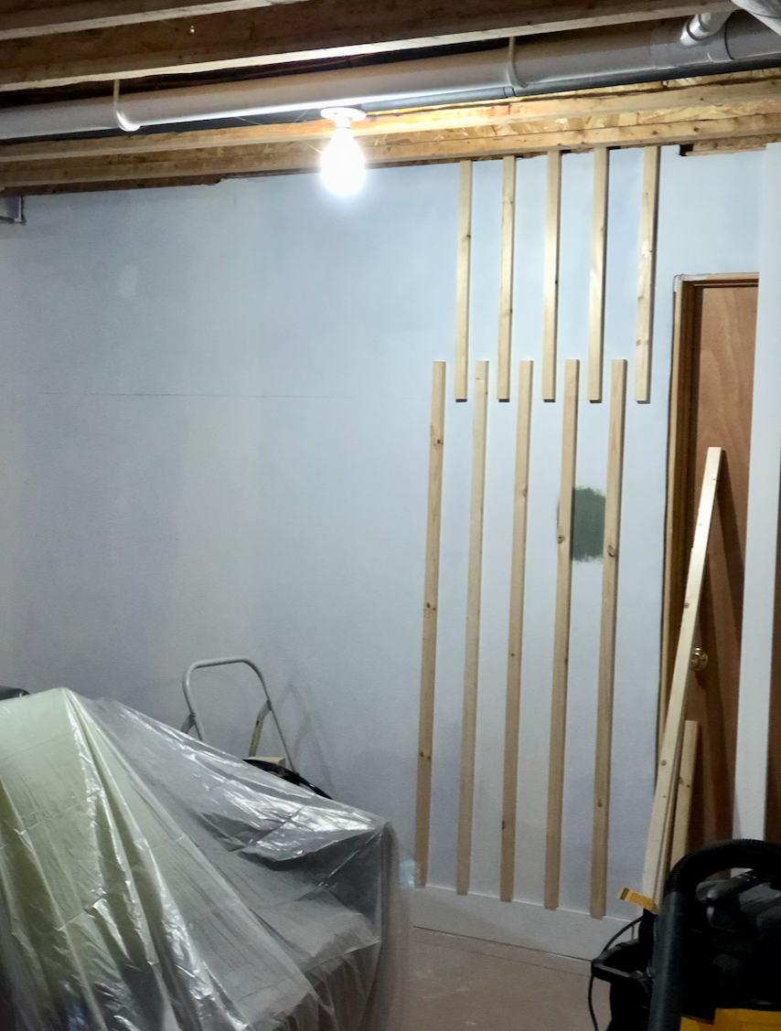 Wall as I began.
