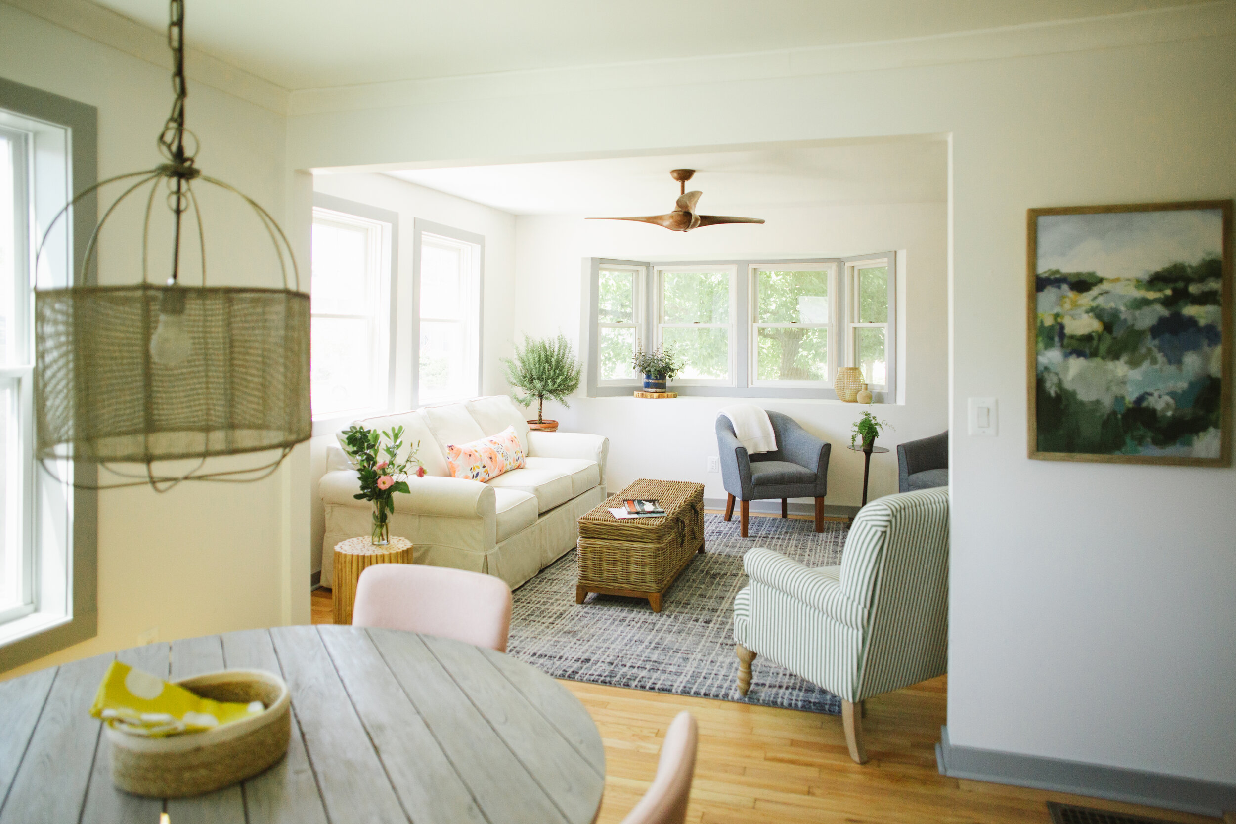 We turned a distressed property into an Airbnb.