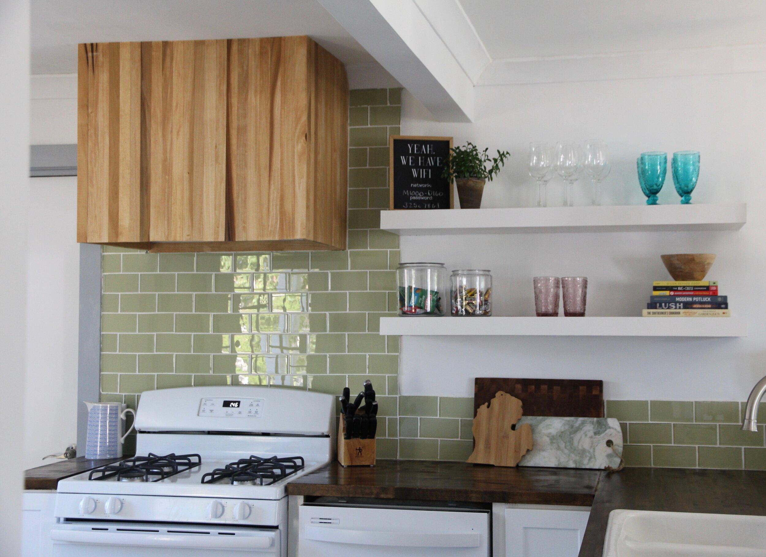 Modern Kitchen Hood Vent DIY
