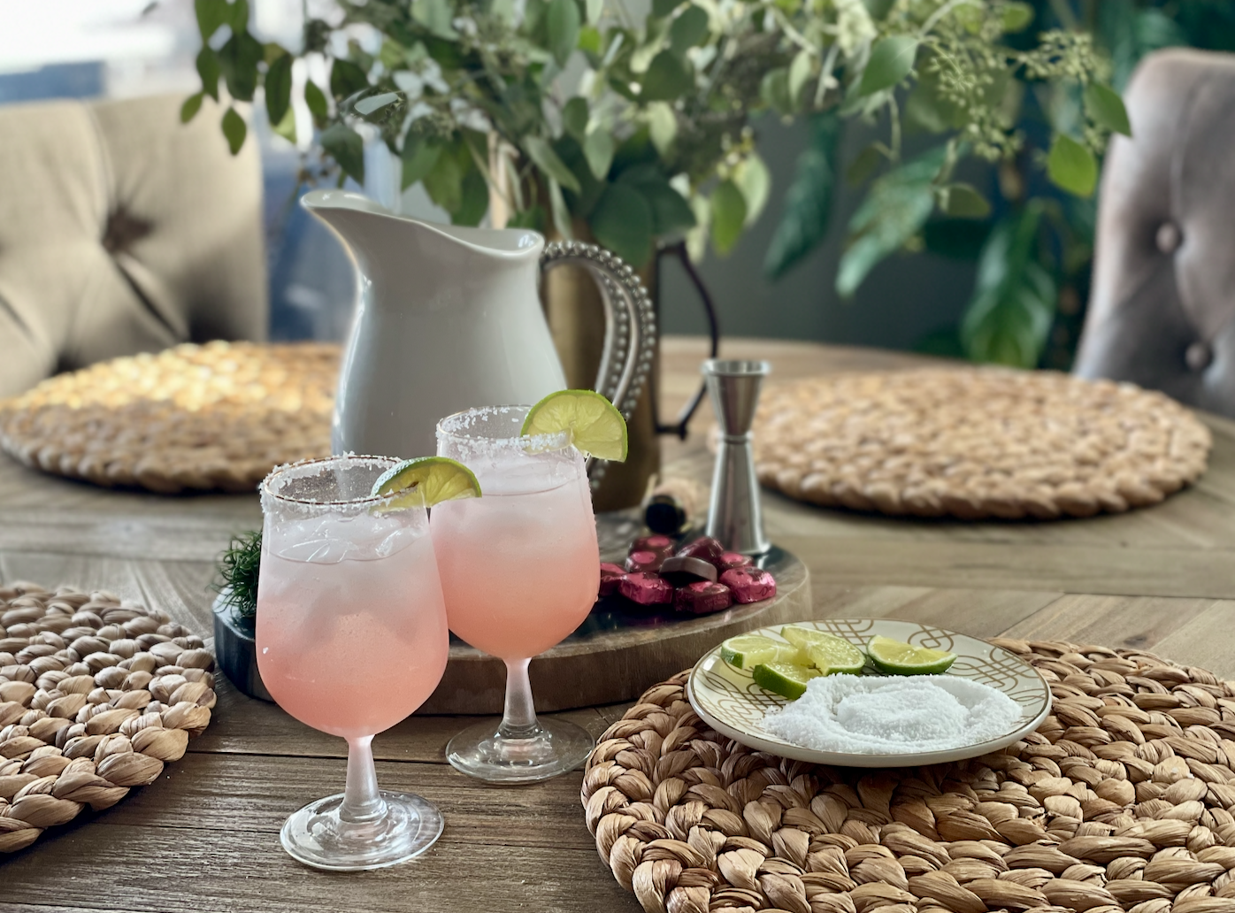 Pretty in Pink Cocktails