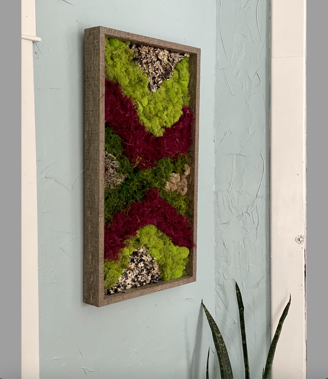 Moss Art DIY