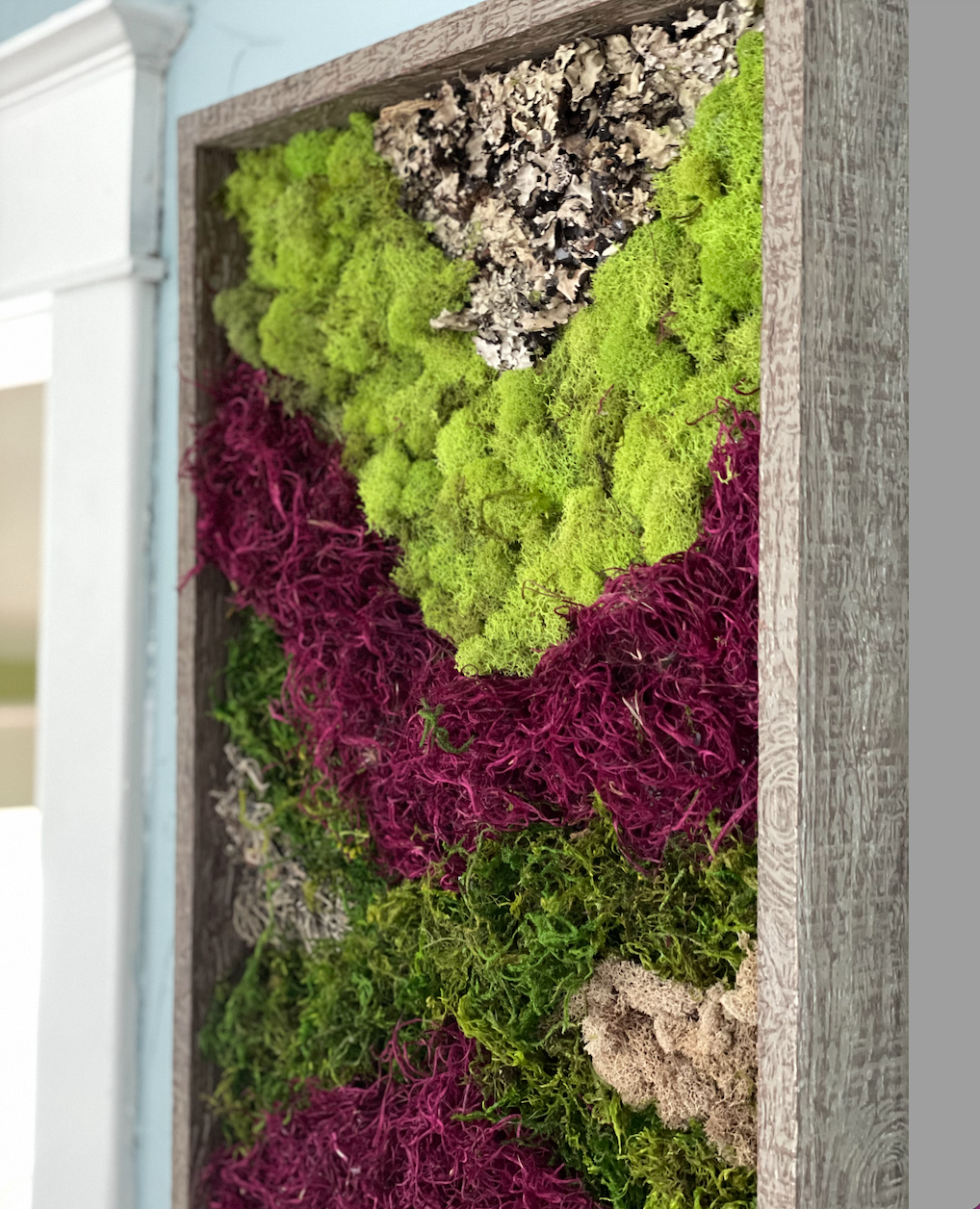 A lovely way to bring in more texture and a touch of nature to your home.