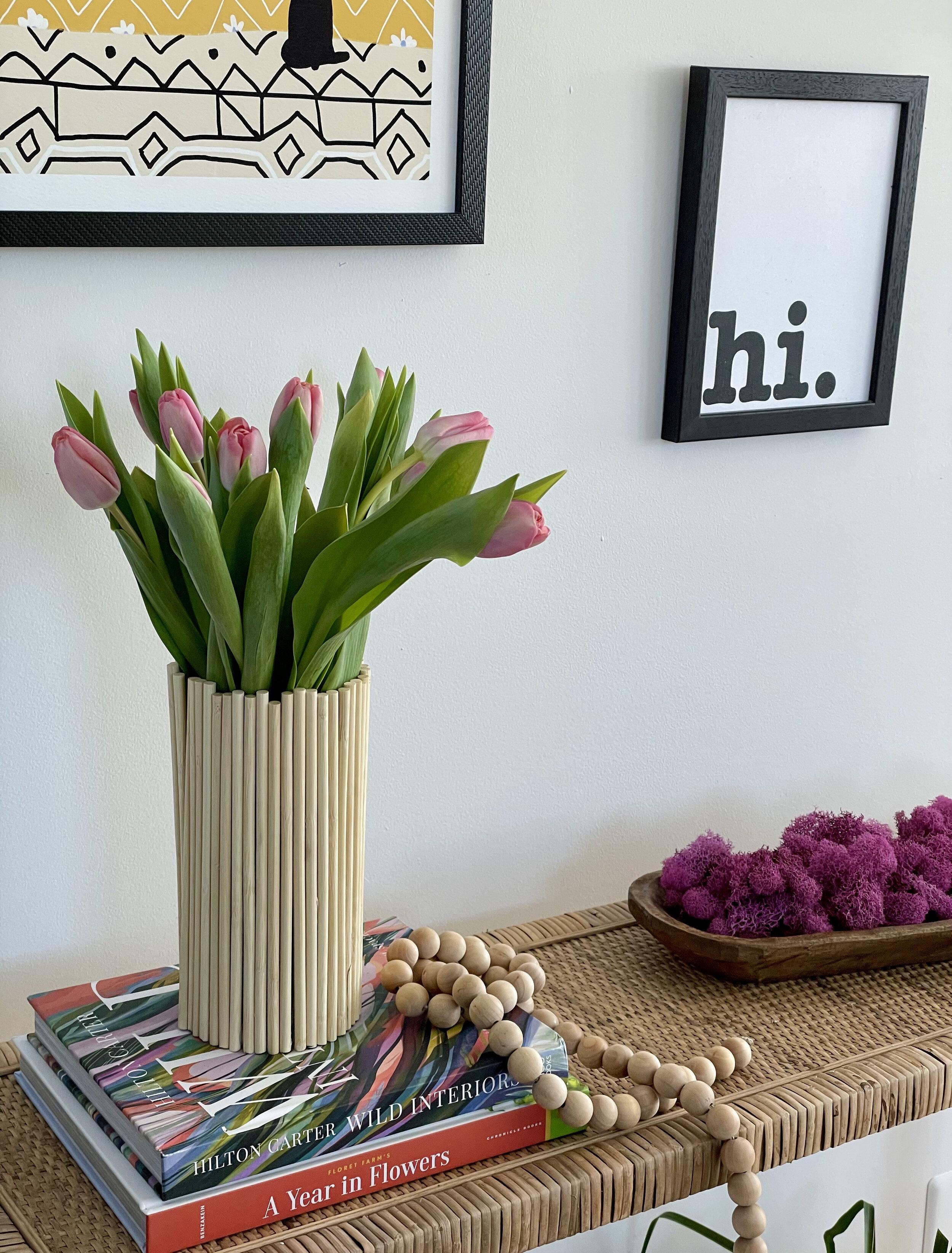 Scandi Style DIY Vase