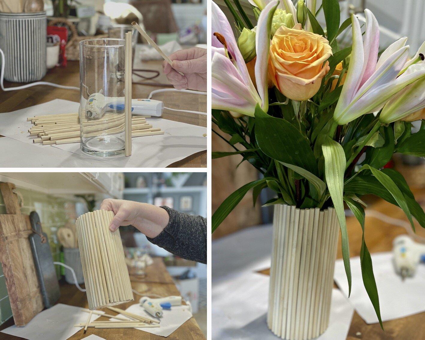 DIY Scandi vase