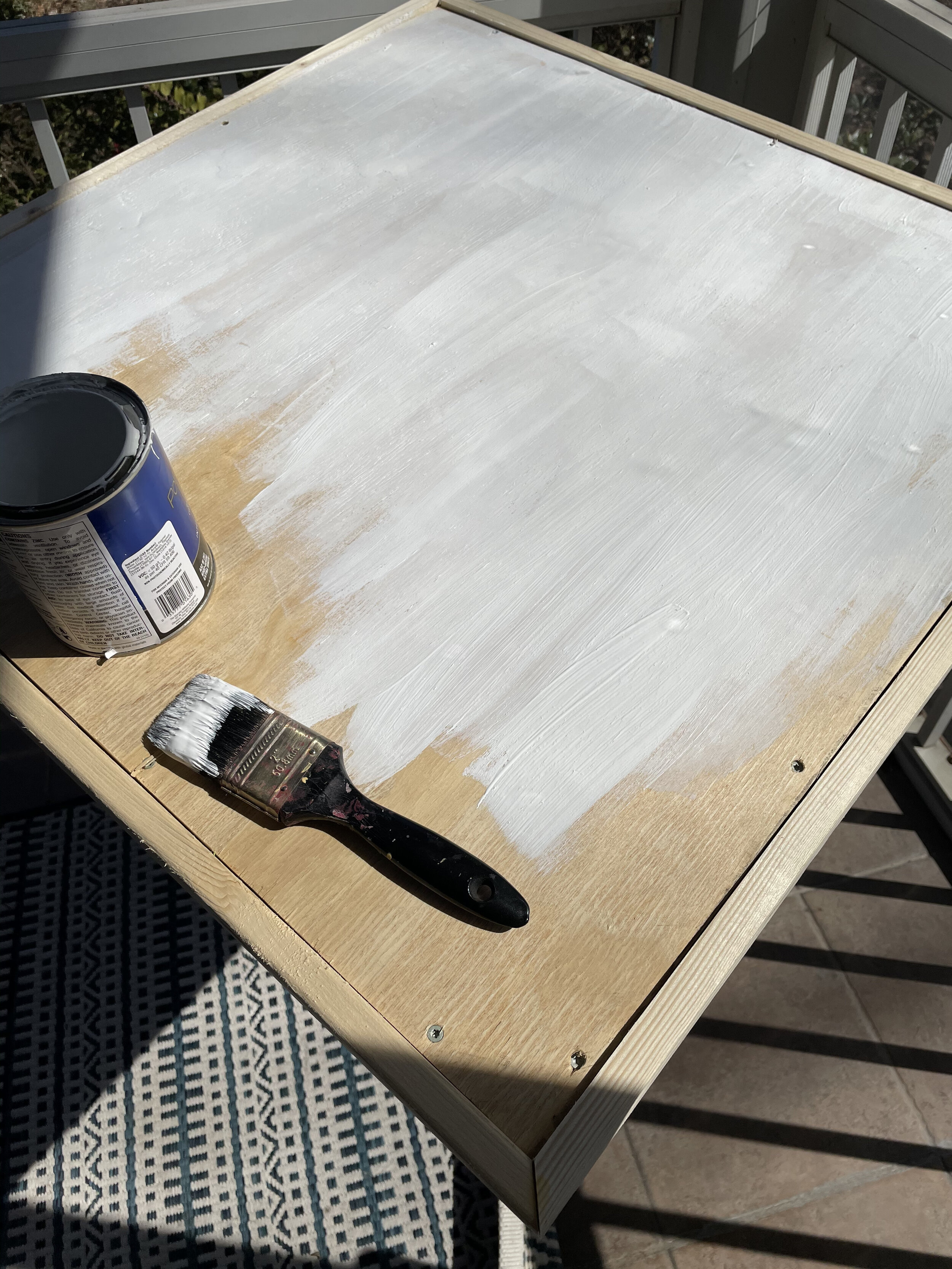 Painting a checkerboard pattern