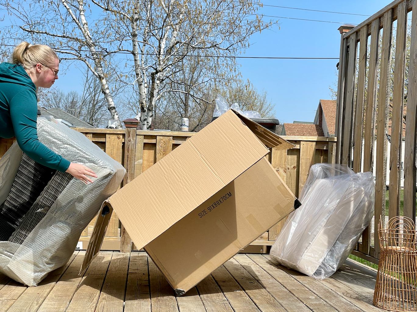 Unboxing Ajna Furniture