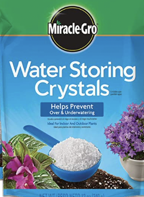 Miracle Grow Water Storing Crystals