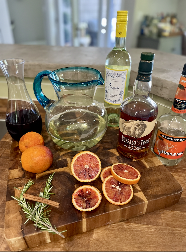 Blood Orange White Wine Sangria- The perfect summer Sangria