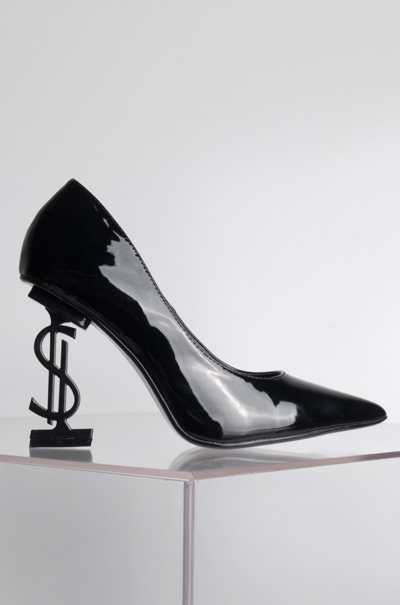 """I'm On Team Me Money Heel"" pump, ($60)"