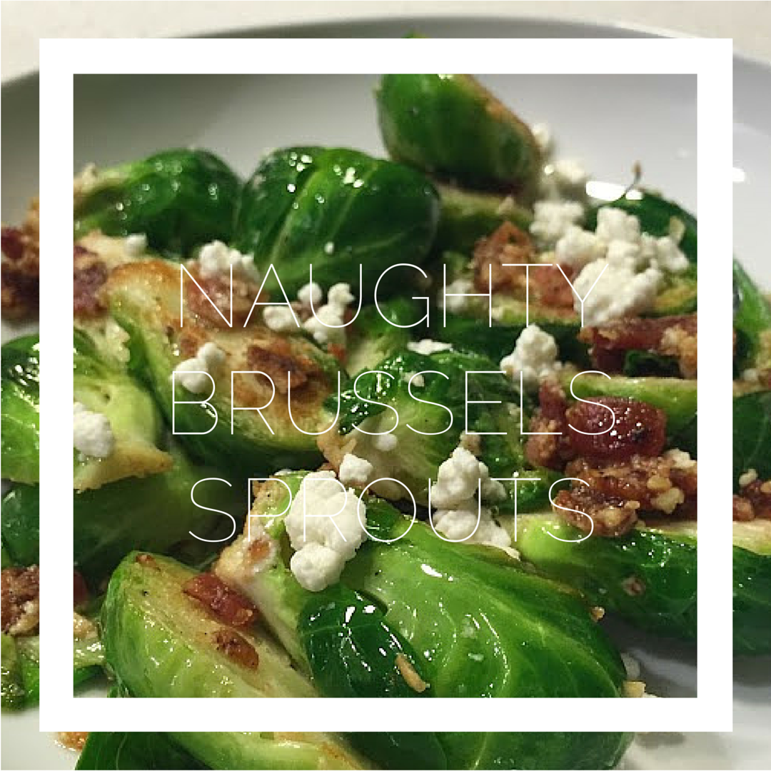 naughty brussels sprouts