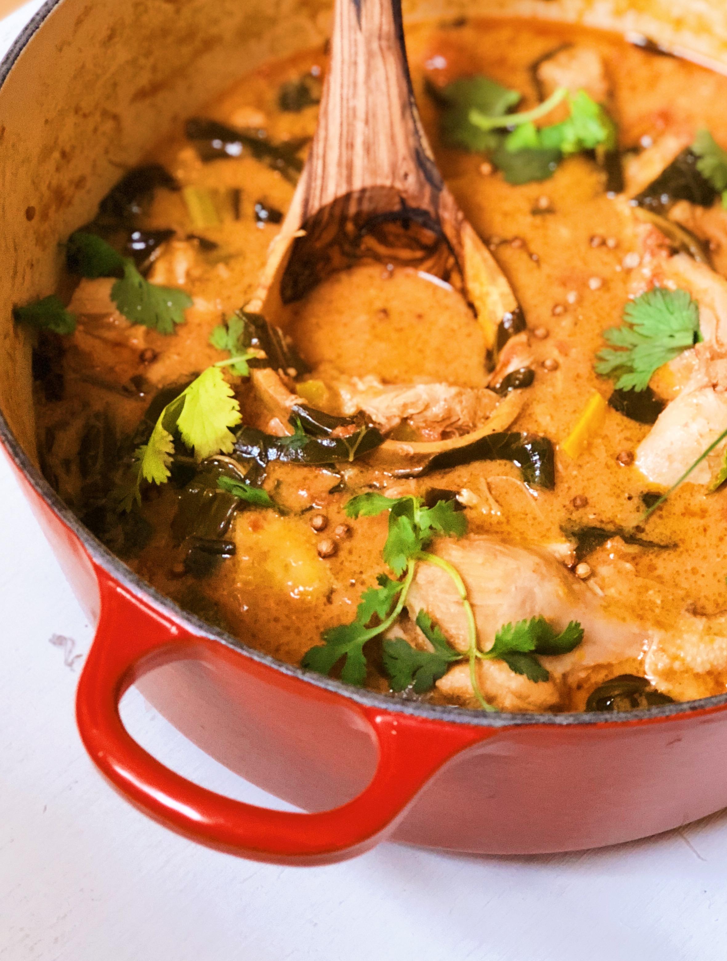 Peanut Butter Chicken Stew - Tati Chin