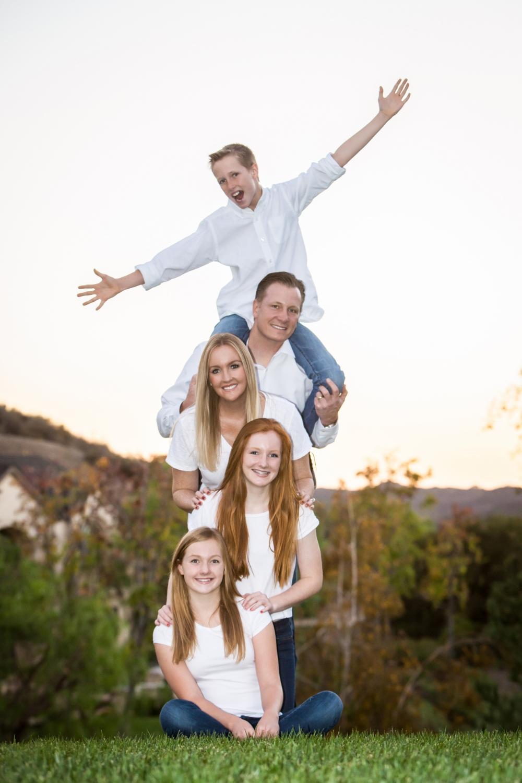 Coto De Caza, California Family Portrait