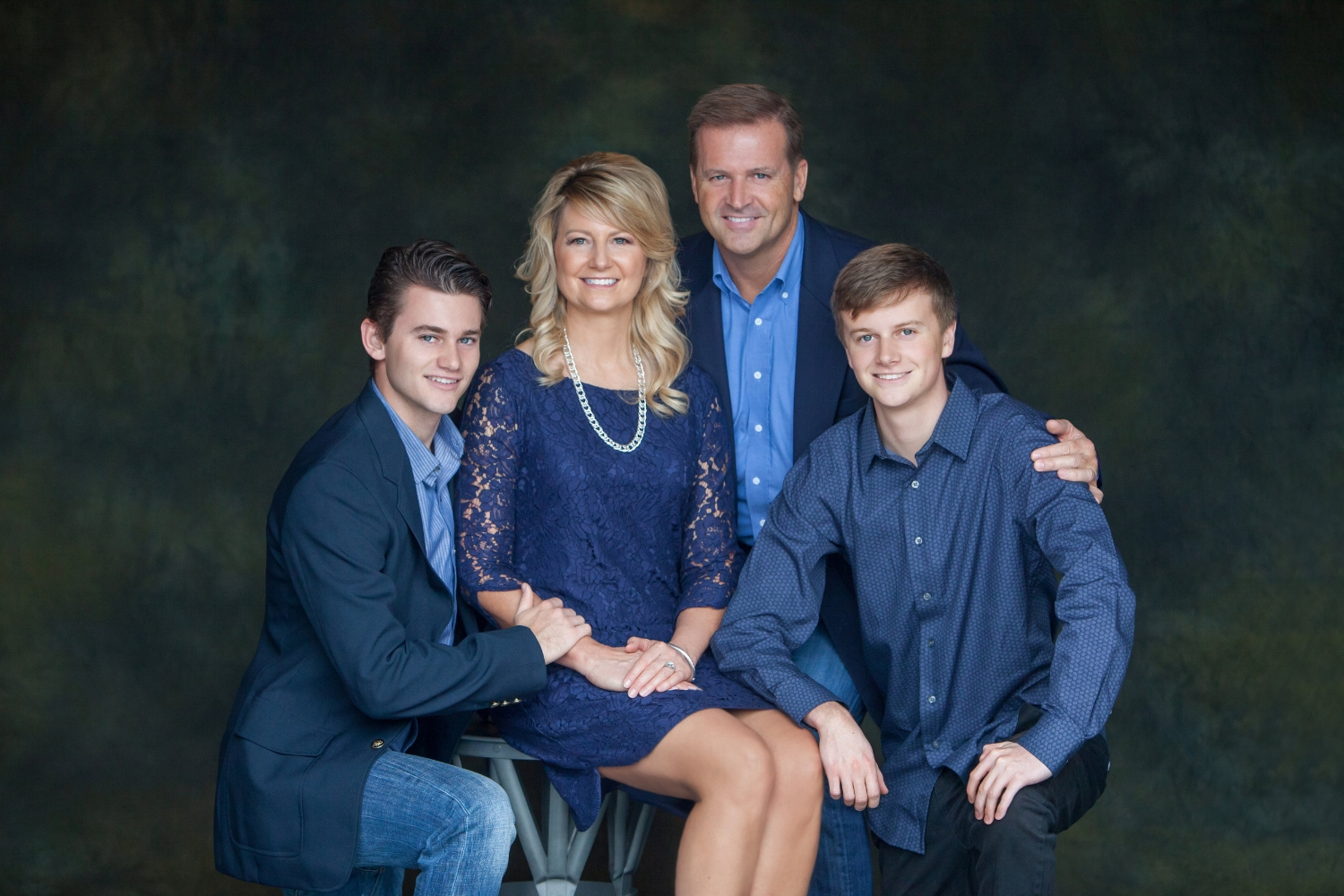 Family Portrait Photography in the studio