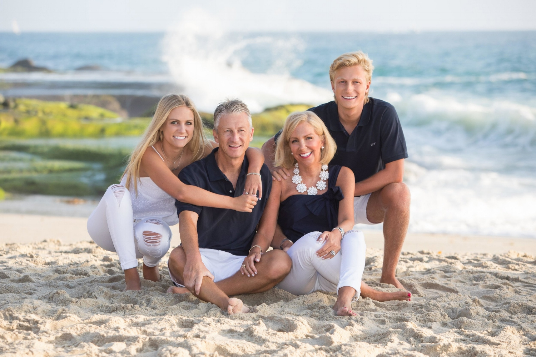 Family Portrait Laguna Beach, California