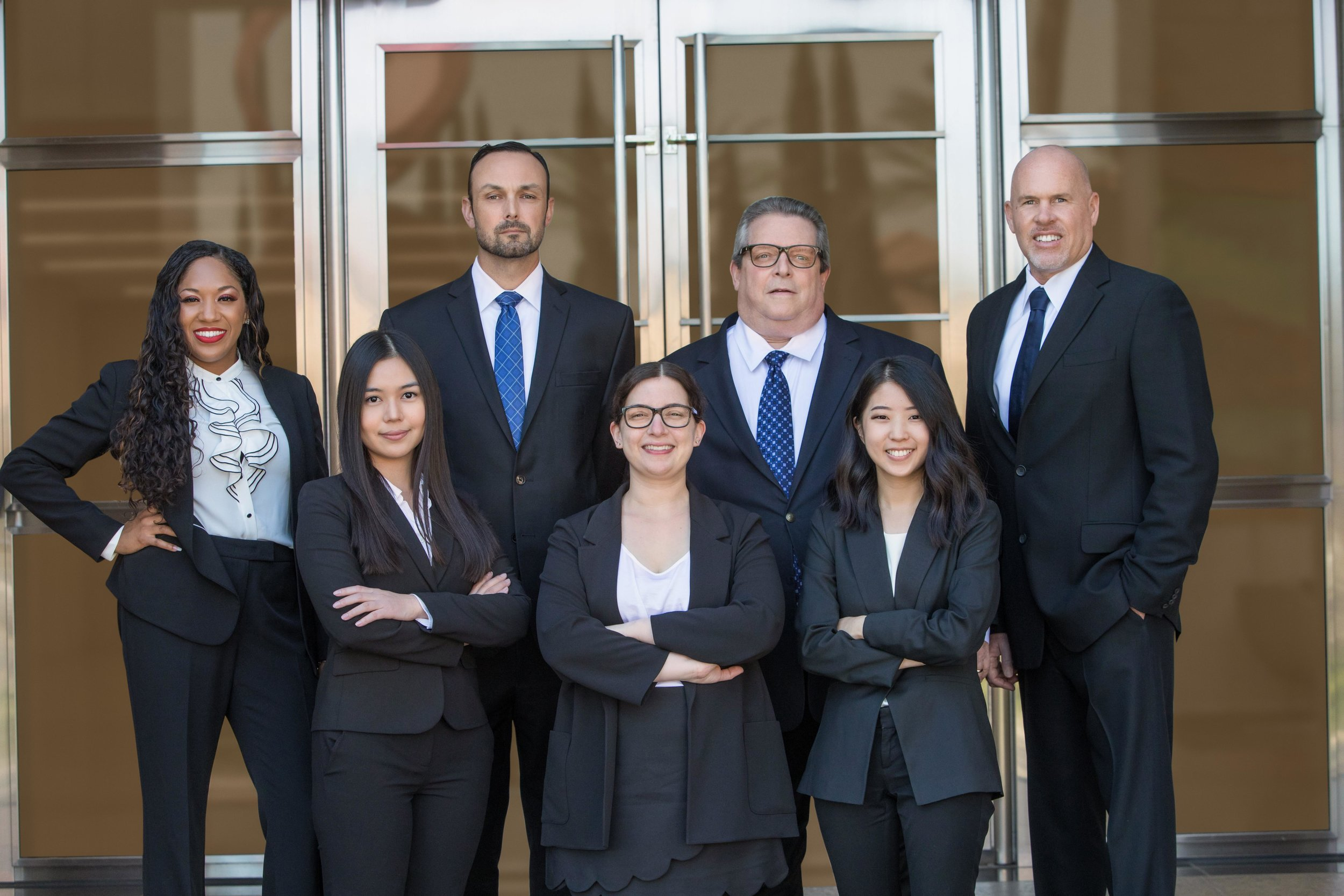 Merrill Lynch financial advisors and directors professional corporate headshot and team photography for men and women.