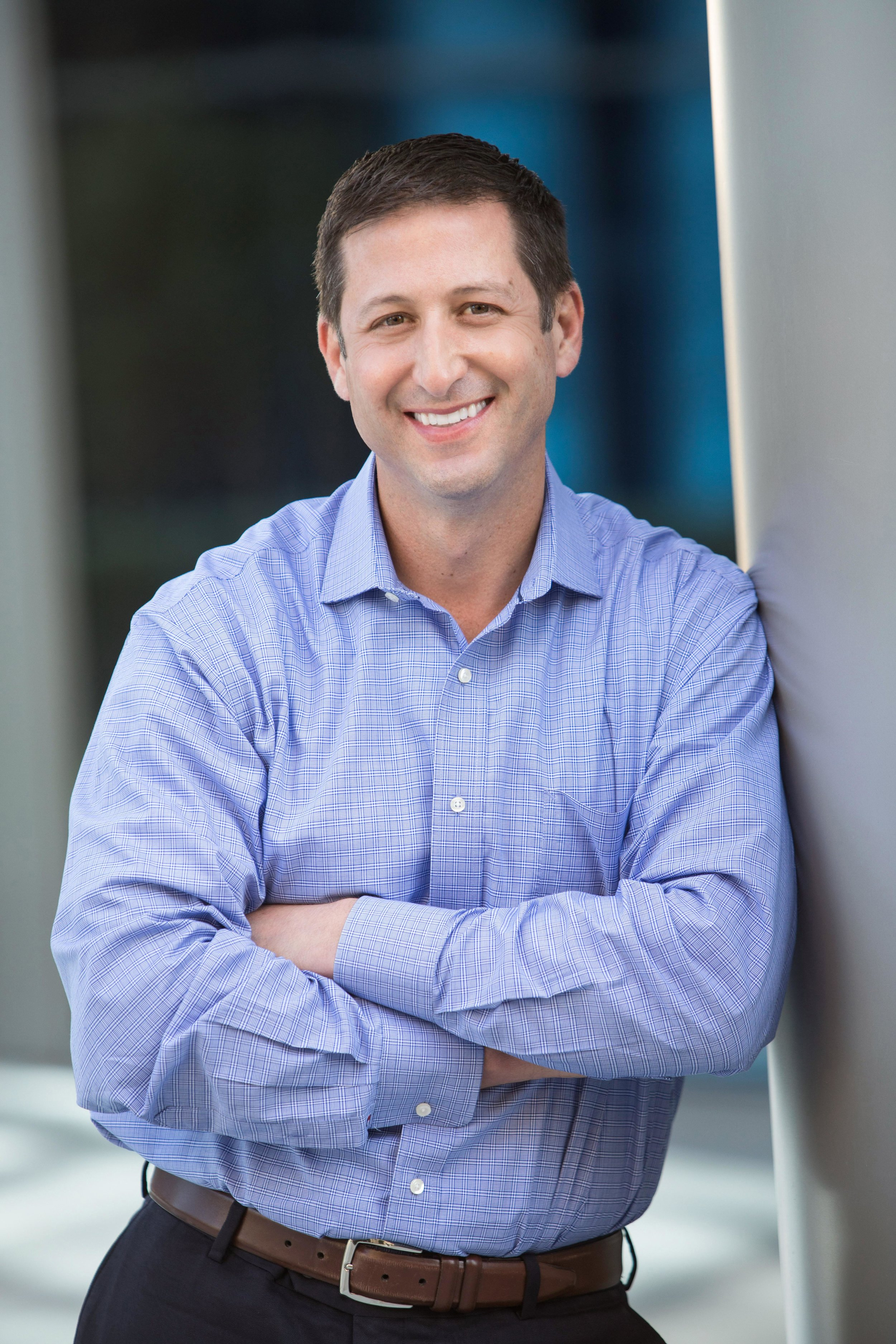 Synoptek IT professional corporate headshot and team photography for men