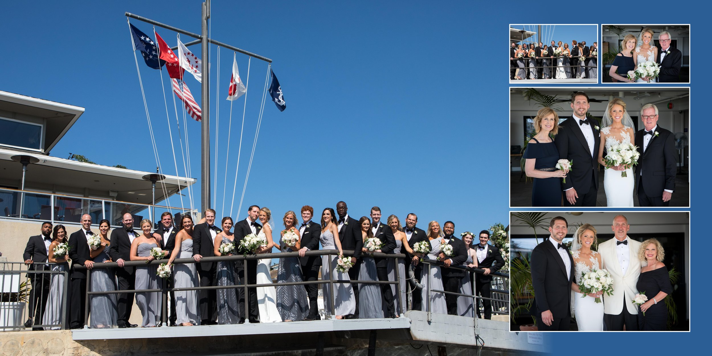 Yacht Club Wedding - Newport Beach, California