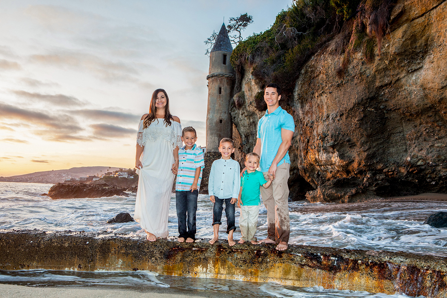 Outdoor Family Portrait Locations