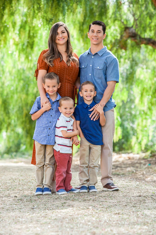 Aliso Viejo California Family Portraits