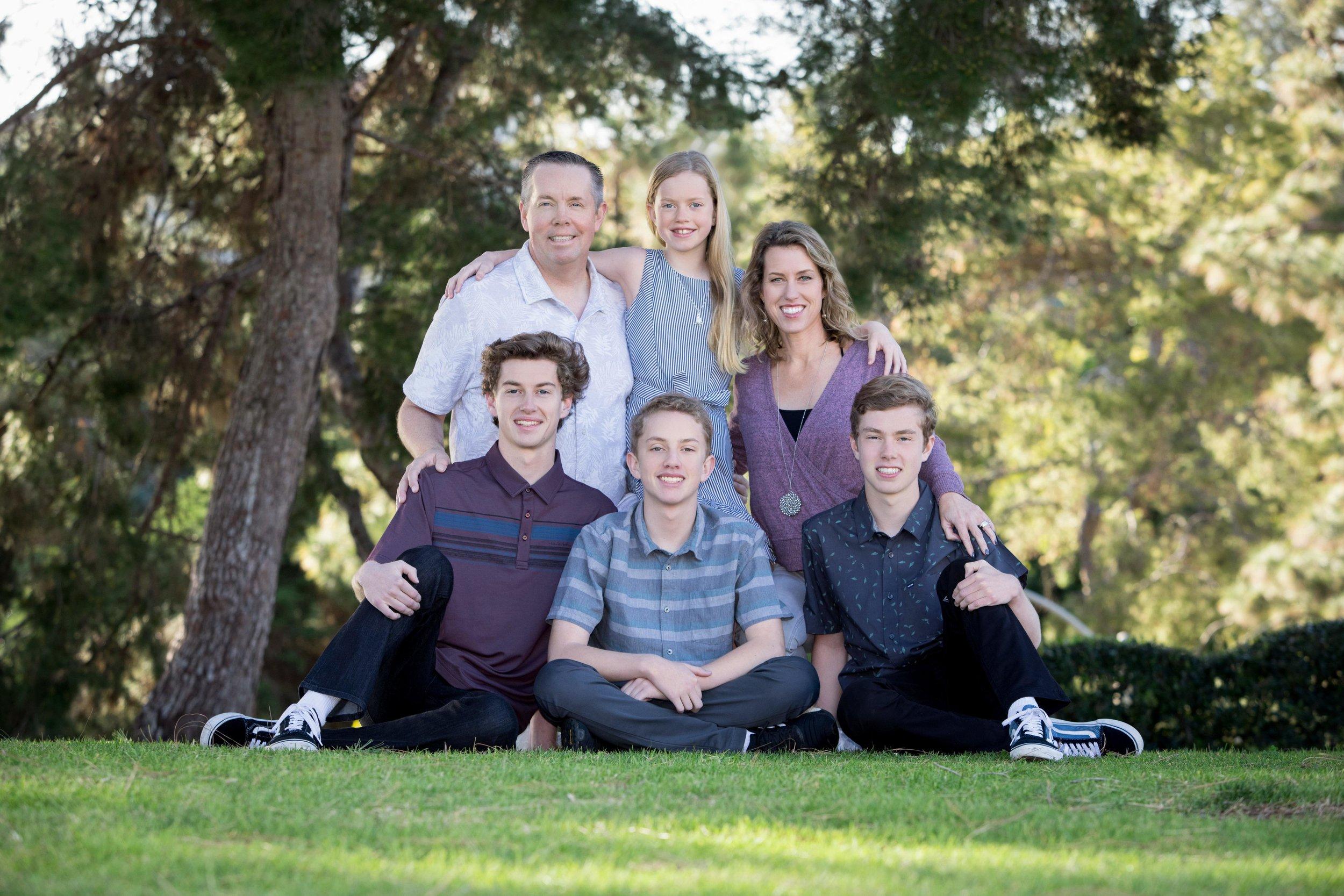 Dana Point, CA Family Portrait