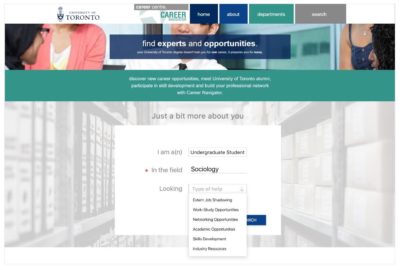 Ux Research U Of T Career Center Billal Sarwar User Experience Researcher