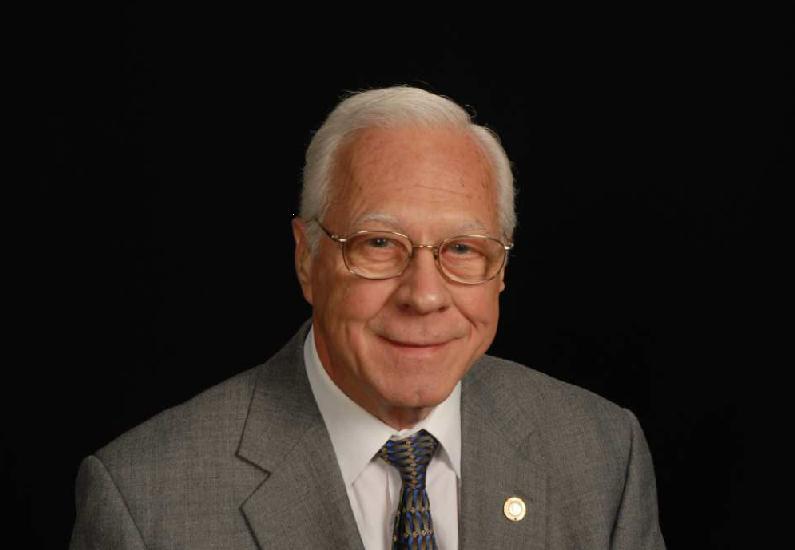 My father, Gerald E. Troutman.