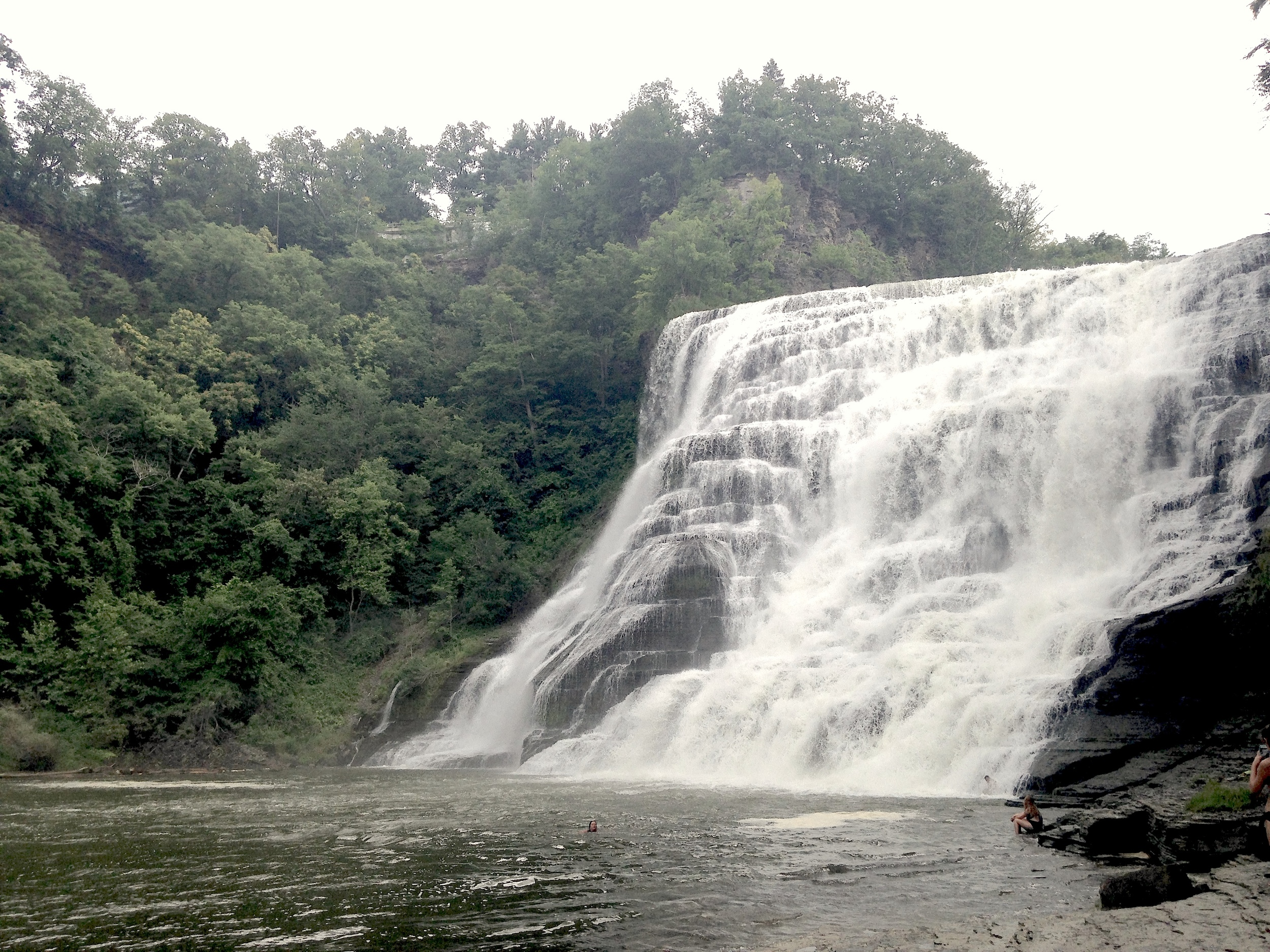 Ithaca Falls - Ithaca, New York