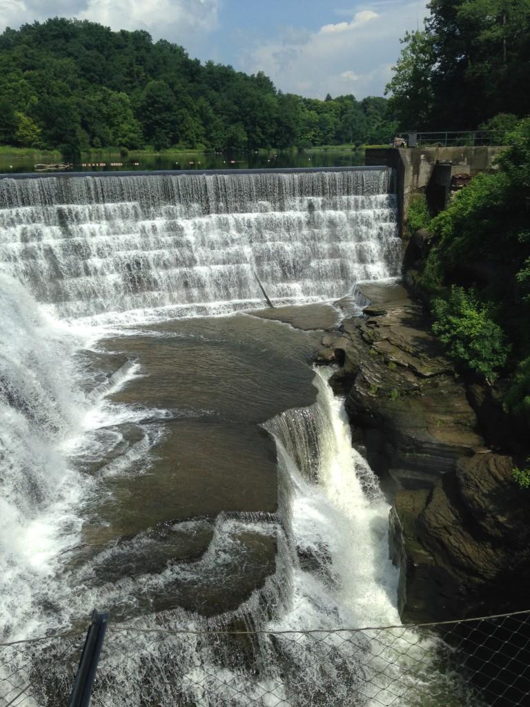 Waterfalls on Cornell University Campus