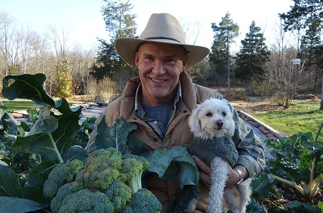 Farmer Fred and Bailey!