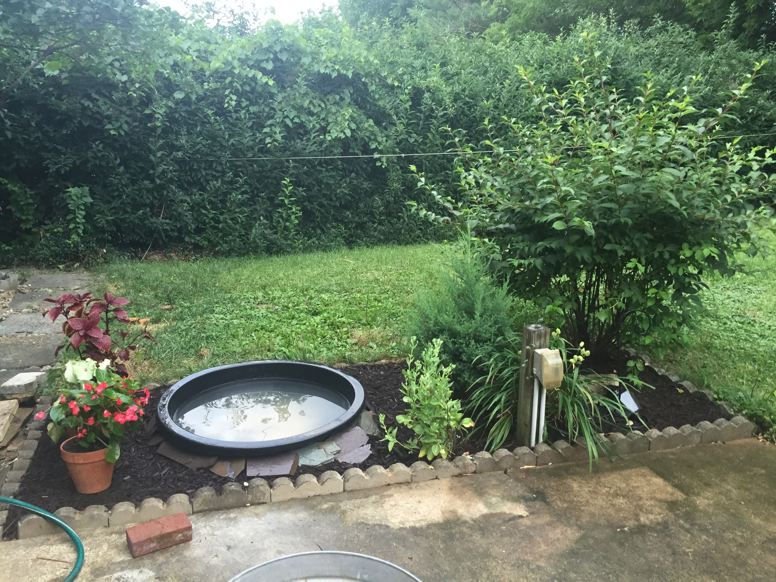 almost-installed-patio-water-fountain-fixture